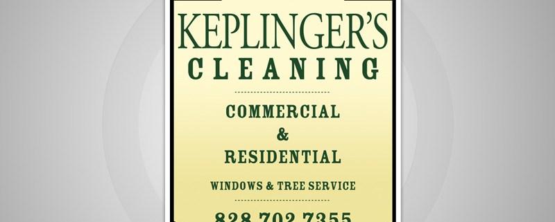 Keplinger's Cleaning Advertisement Desig