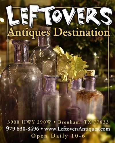 Leftovers Antiques Ad Design