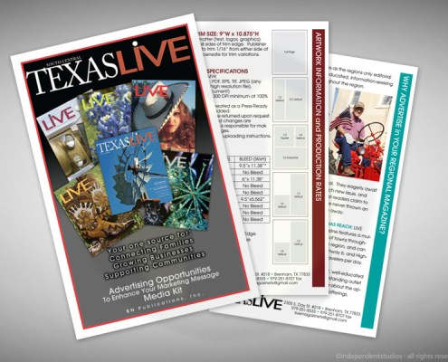 Brochure Design for Texas Live