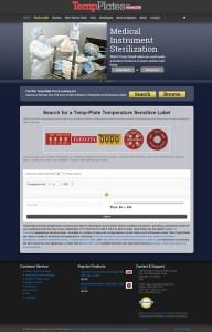 Web Design for Palmer Wahl