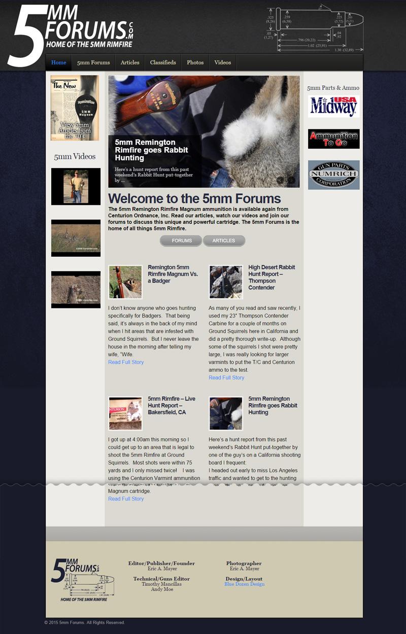Web Design for 5mm Forums
