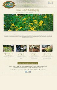 Web Design for Snow Creek Landscaping