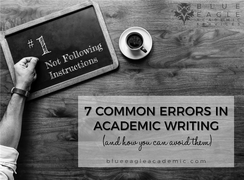 Common Errors in Academic Writing (and How to Avoid Them)