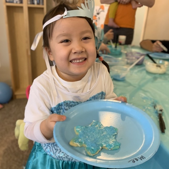 6 Activities we did for our Frozen themed 4th Birthday Party