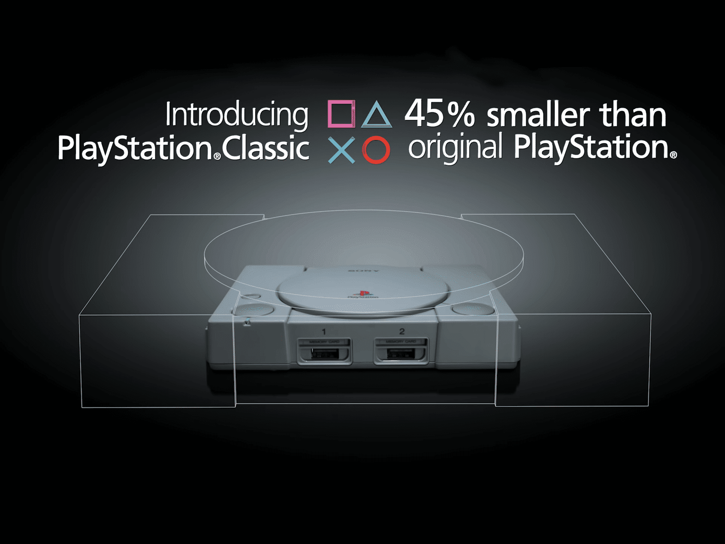 Sony announces the PlayStation Classic, a door into the world of very small nostalgia 1