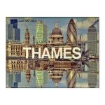 A logo for Thames TV