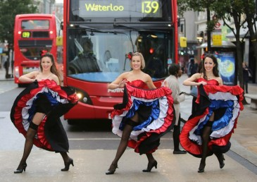 Can Can Dancers London