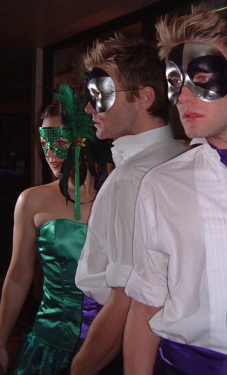 Masquerade Dancers for Event
