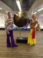 70's Abba dancers