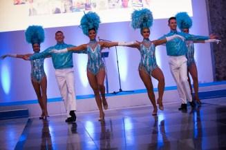 Paris showgirl dancers