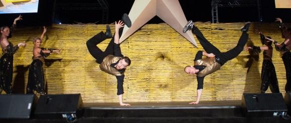 Male Break Dancers