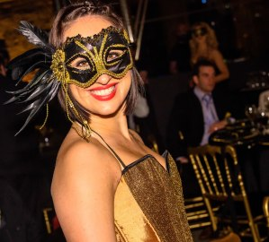 Masquerade dancer