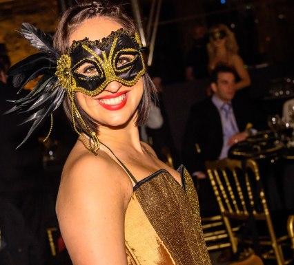 Masquerade dancer