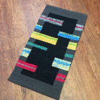 Shaft switched rag rug