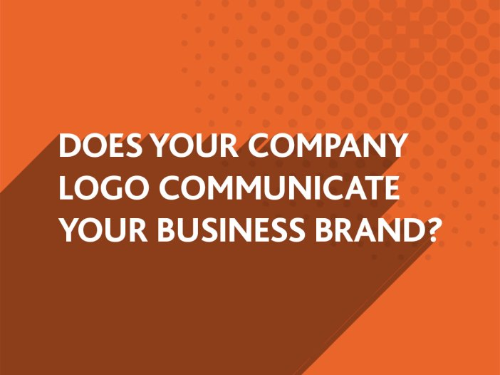 Does your company logo communicate