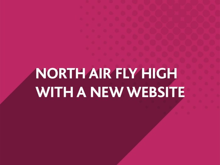 North Air fly high with a new website