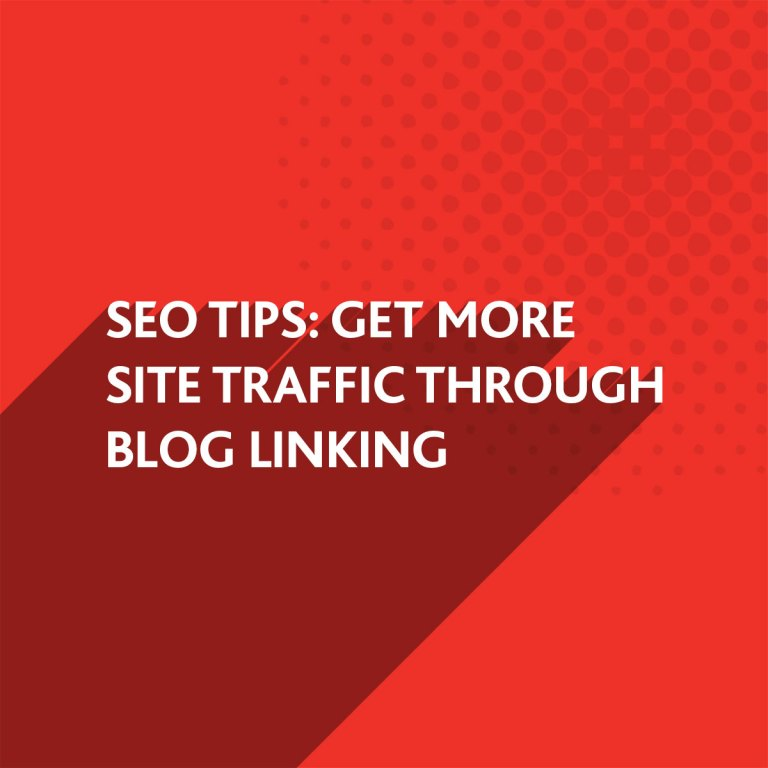 More site traffic through blog linking