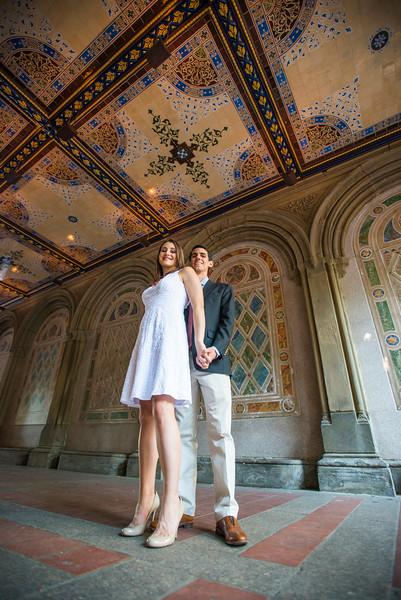 New York City Engagement Photos