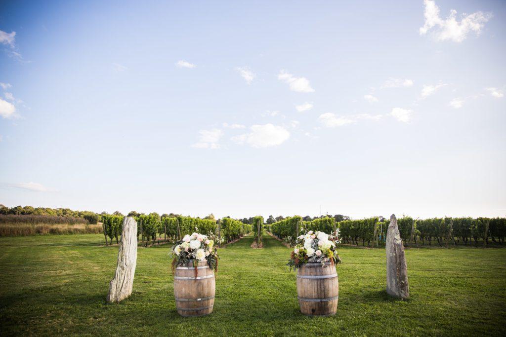 Newport vineyards wedding