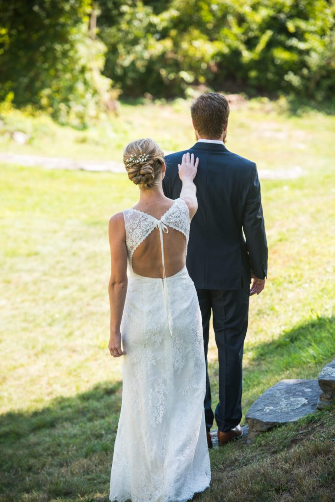 Whitney and Craig | Jamestown Backyard Wedding | Blueflash Photography