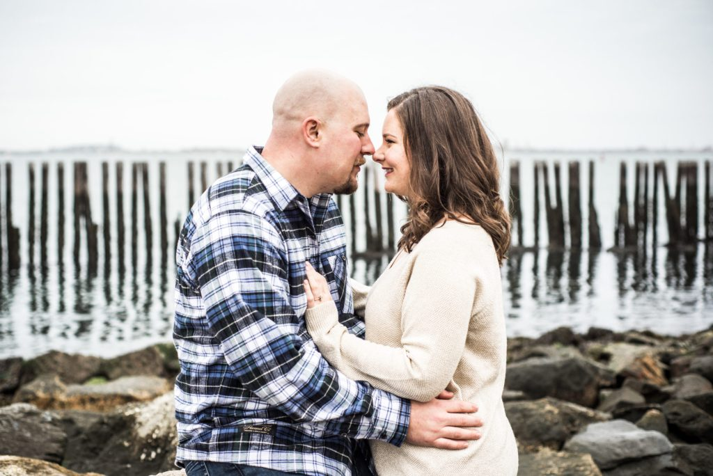 Jennie and Colin | Castle Island Engagement Session | Blueflash Photography