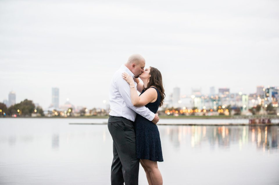 Jennie and Colin | Castle Island Engagement Session