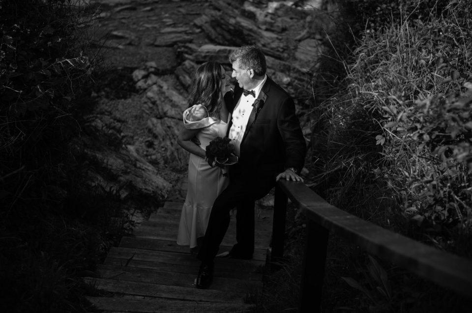 Cliff and Liza | Castle Hill Newport Elopement