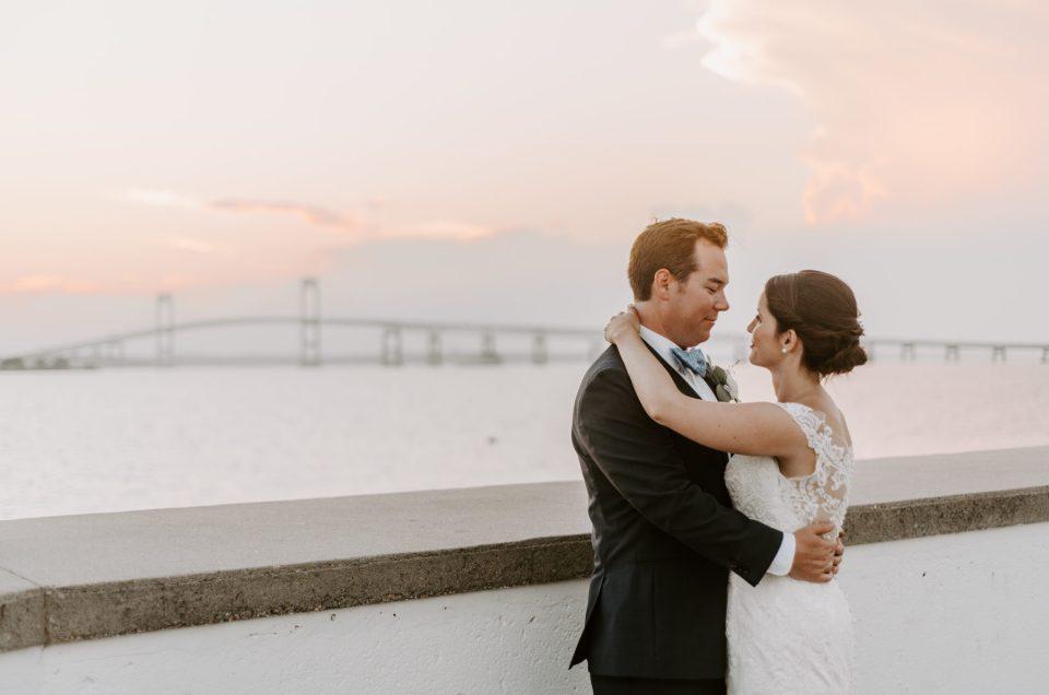 Bridget and James | Wedding at Gurney's Newport