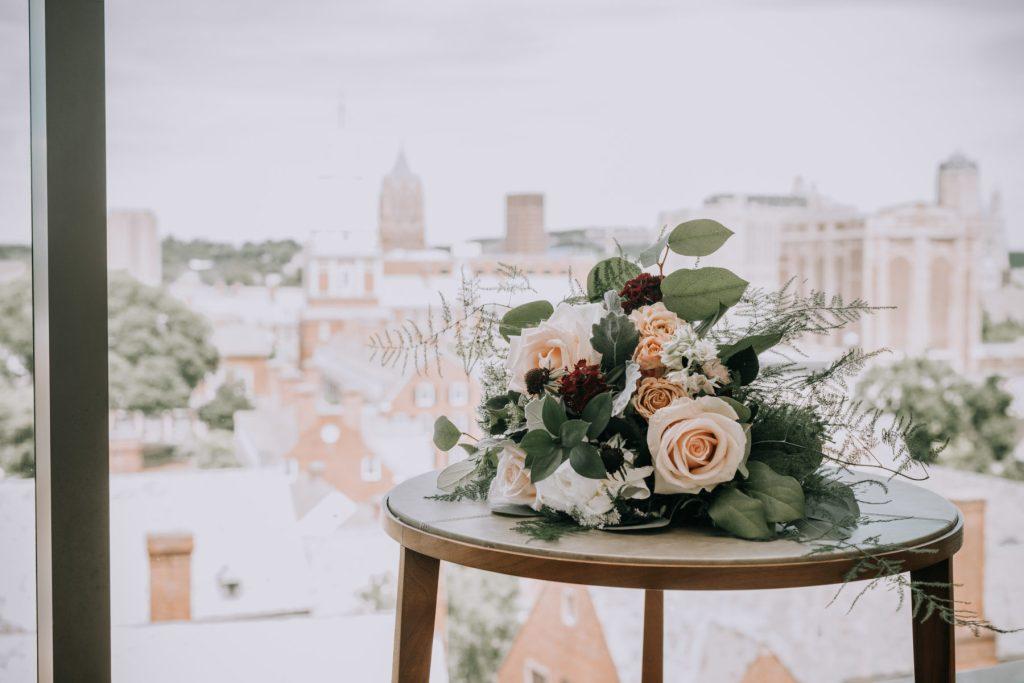 Sasha and Michael | Bride's Bouquet