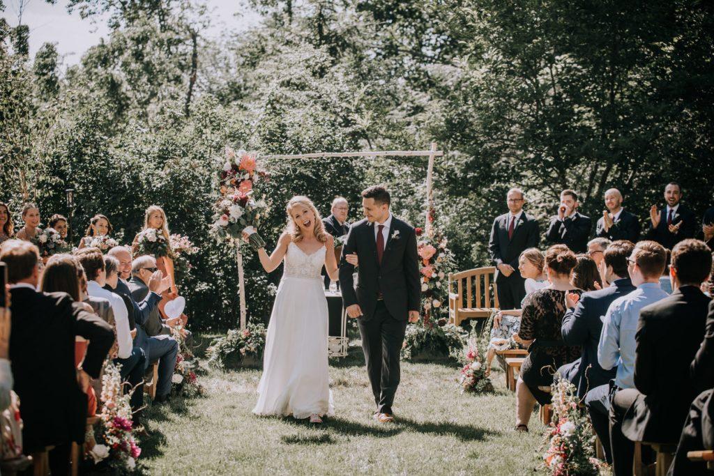 Sasha and Michael | Connecticut Backyard Wedding
