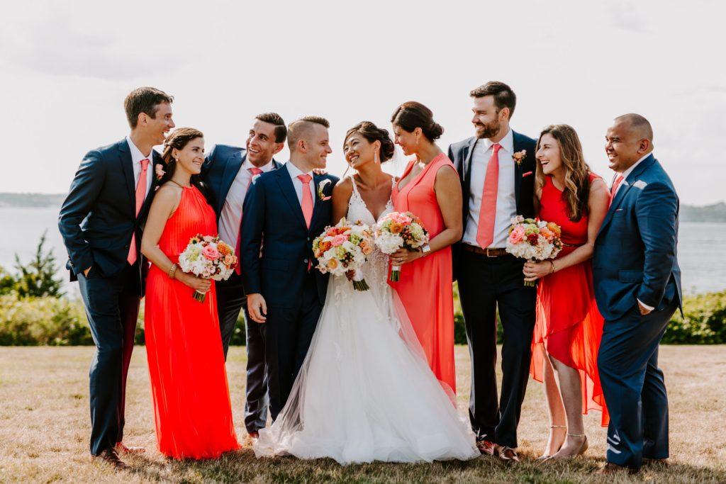 Ocean Cliff Newport Wedding Gena and Ricky Blueflash Photography25