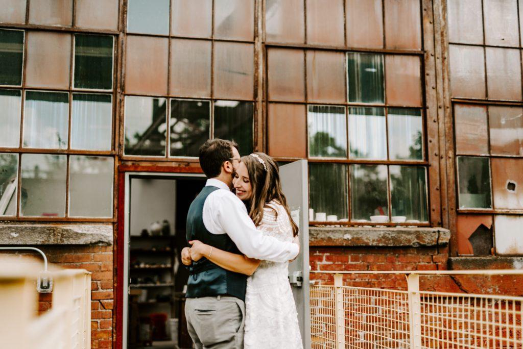 Steel Yard Providence Wedding Emily and Eric Blueflash Photography 12