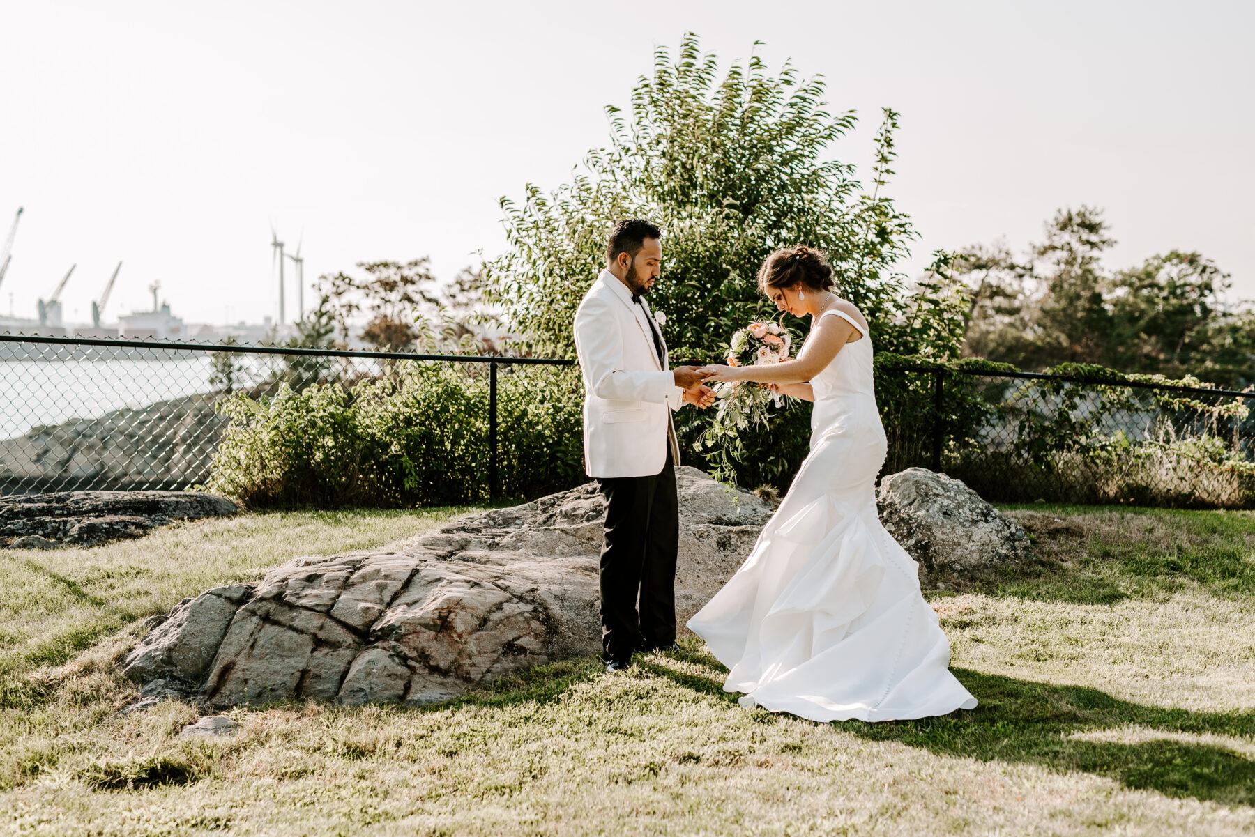 Squantum Association Wedding Victoria and Chris Blueflash Photography 16