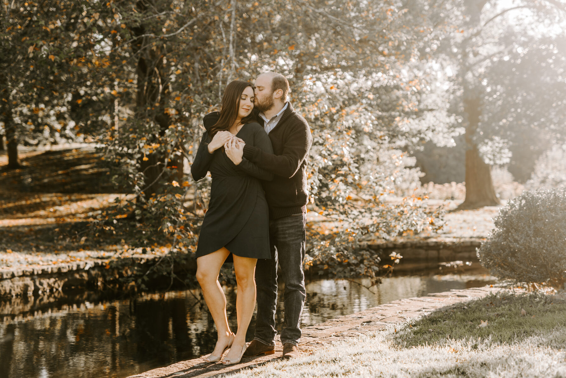 Roger Williams Park Providence Engagement Erica and Brian Blueflash Photography 6 1
