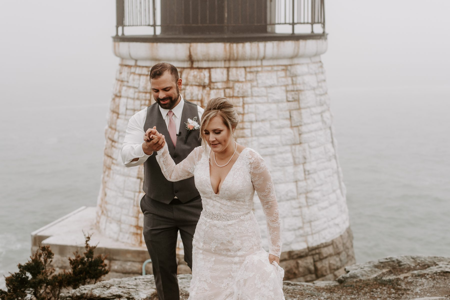 Castle Hill Newport Elopement Lorrie and Ed Blueflash Photography 21
