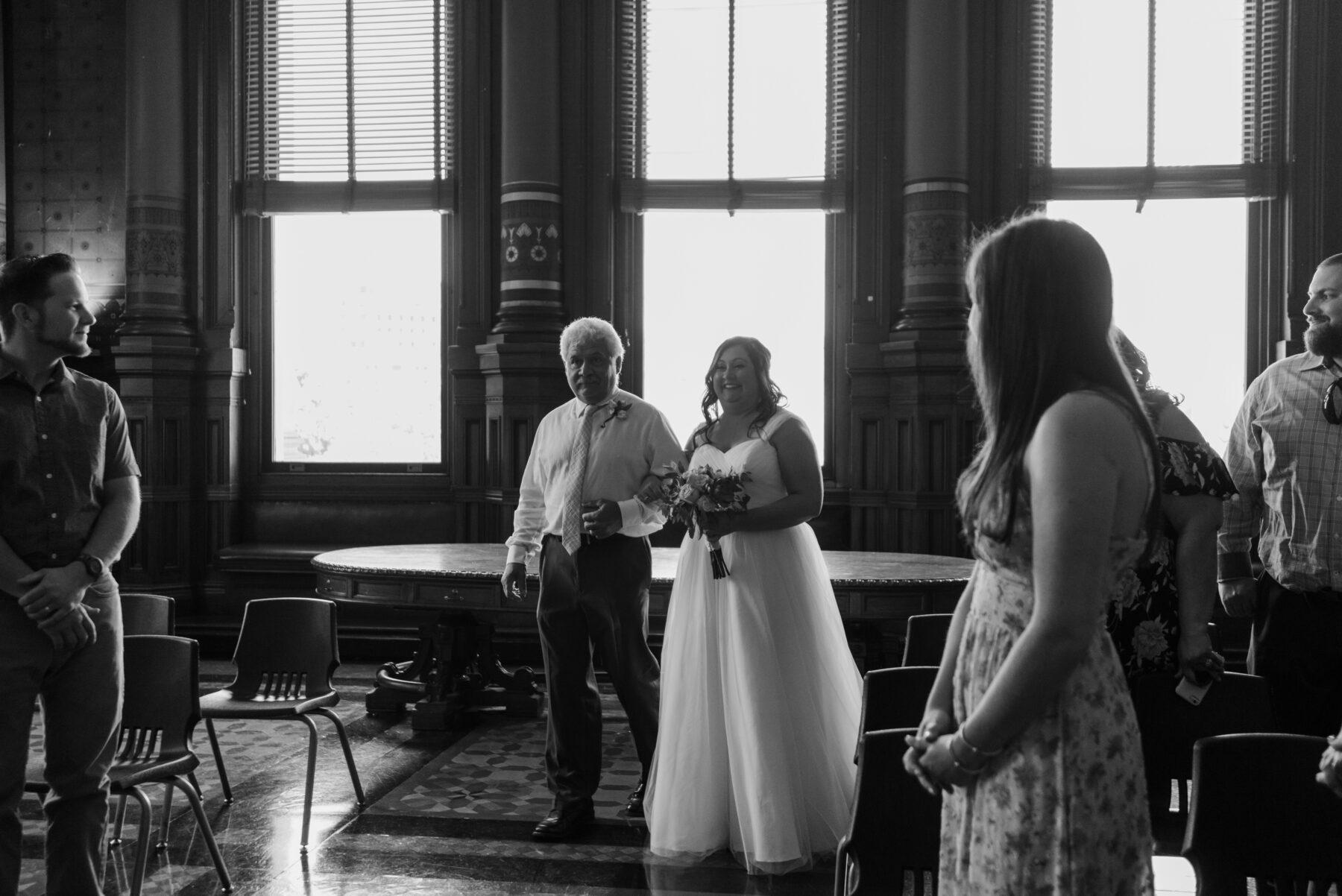 Providence City Hall Wedding Kerri and Billy Blueflash Photography 1