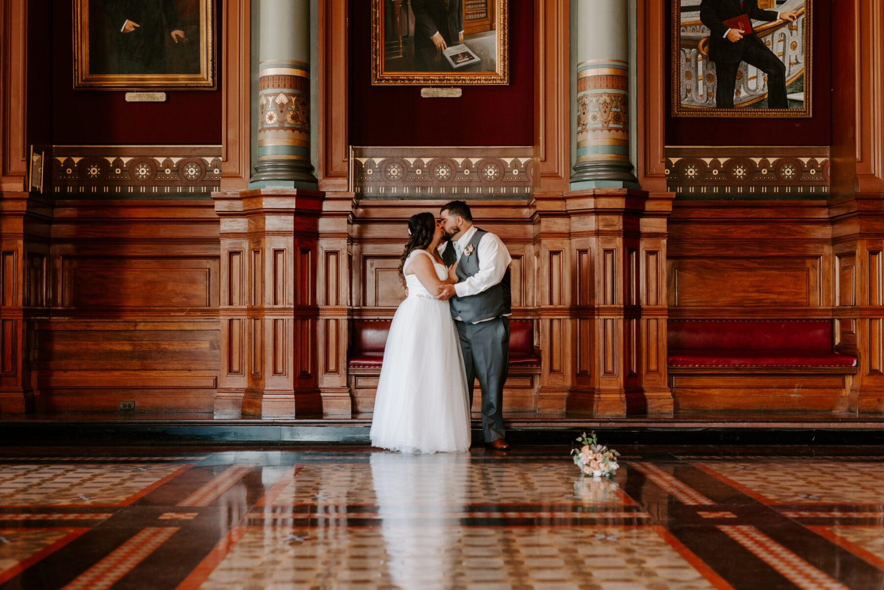 Providence City Hall Wedding Kerri and Billy Blueflash Photography 13