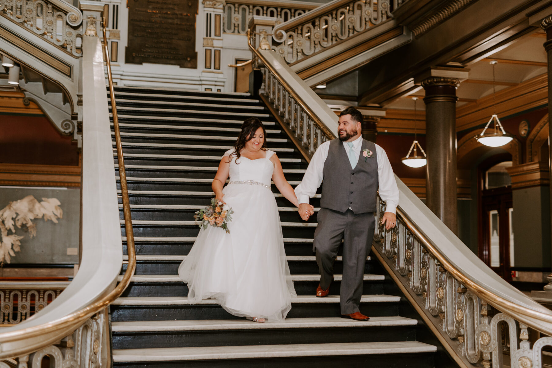 Providence City Hall Wedding Kerri and Billy Blueflash Photography 16