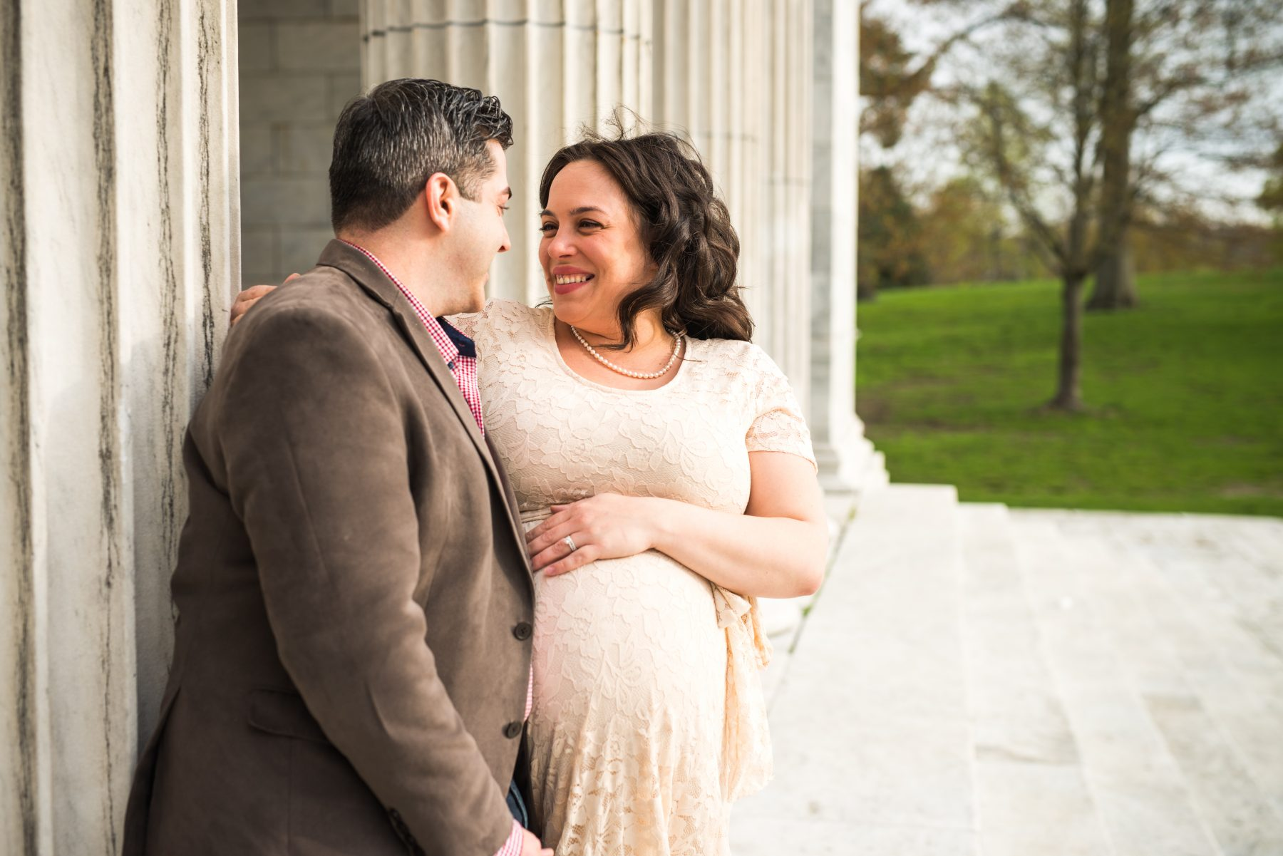Roger Williams Providence Maternity Marissa and Mike Blueflash Photography 1