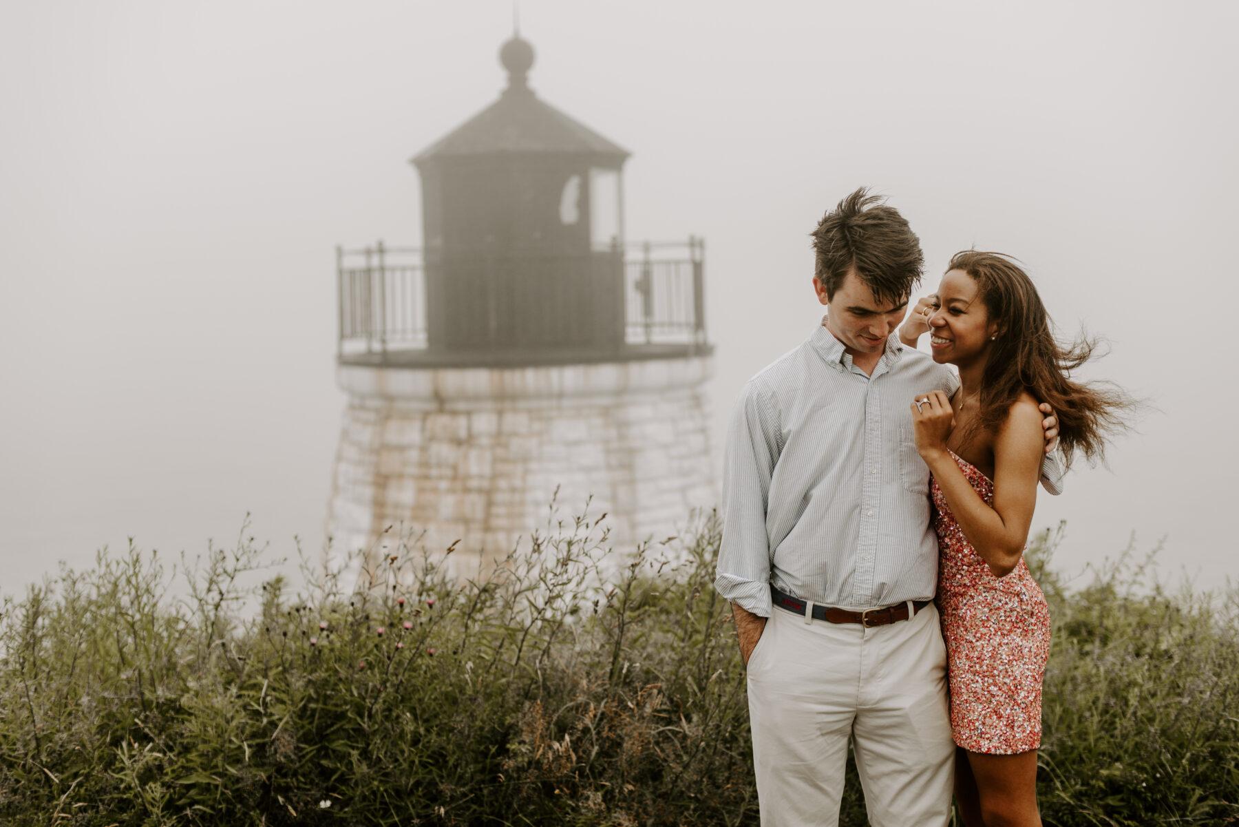 Castle Hill Newport Proposal Spencer and Elisabeth Blueflash Photography 9