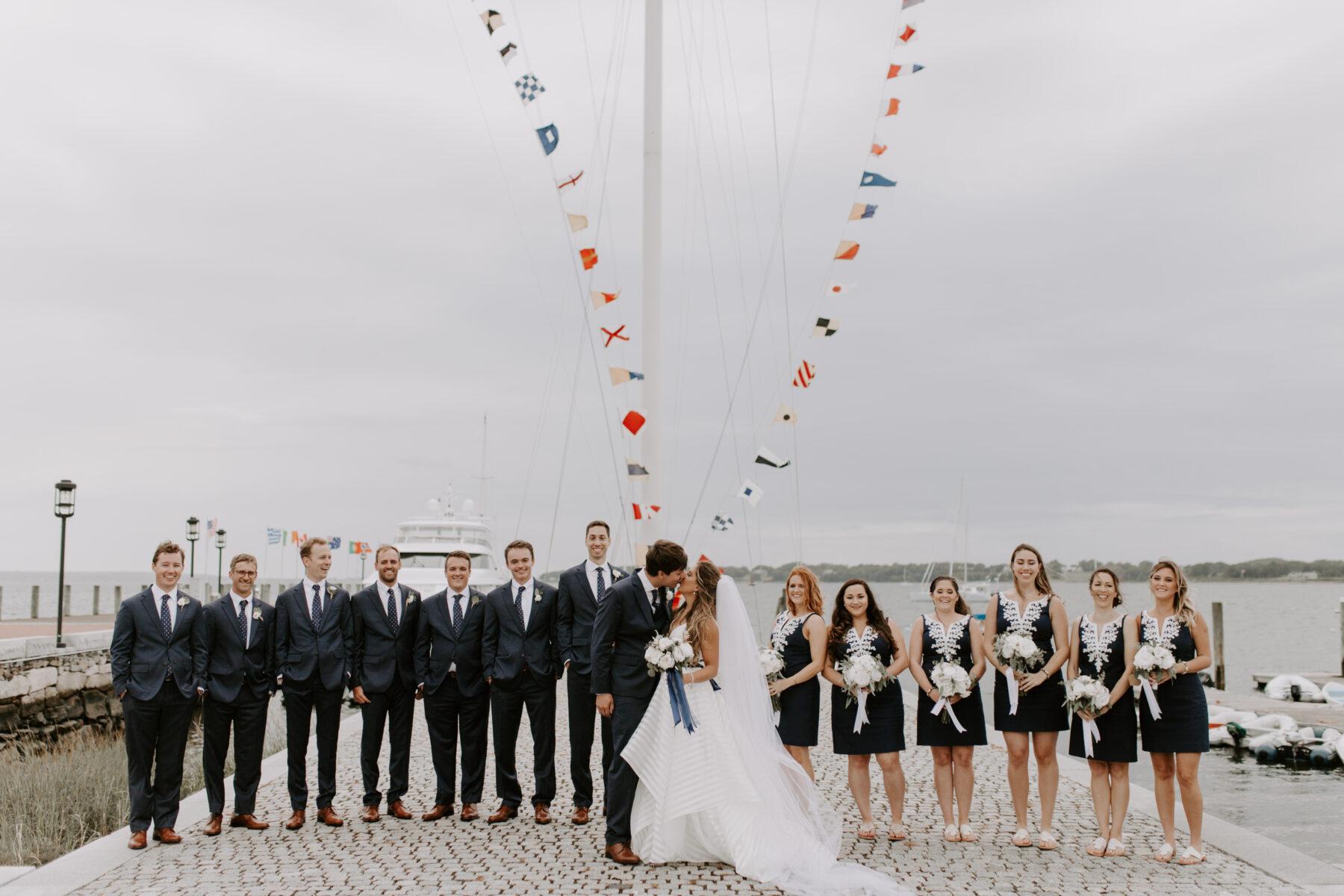 Herreshoff Museum Wedding Chanel and Mark Blueflash Photography 11