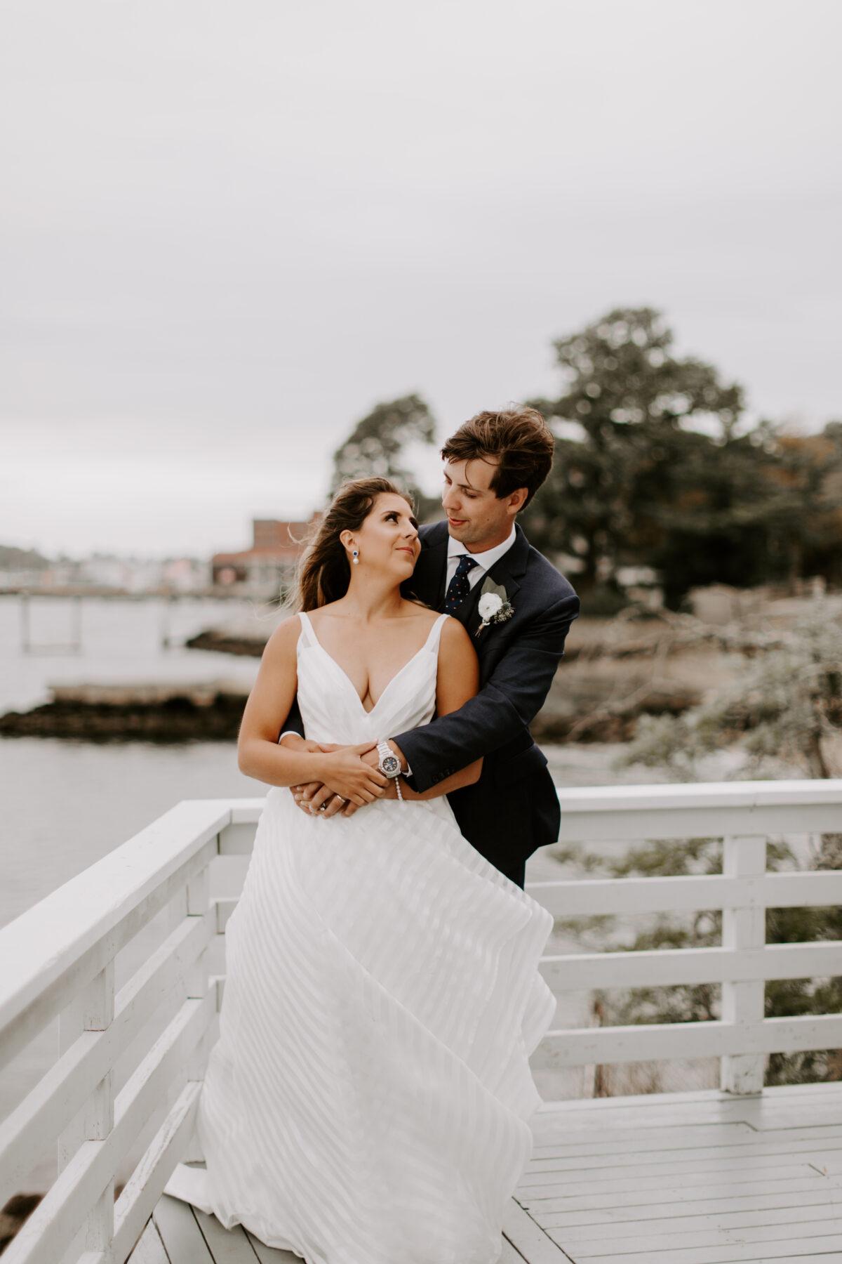 Herreshoff Museum Wedding Chanel and Mark Blueflash Photography 9