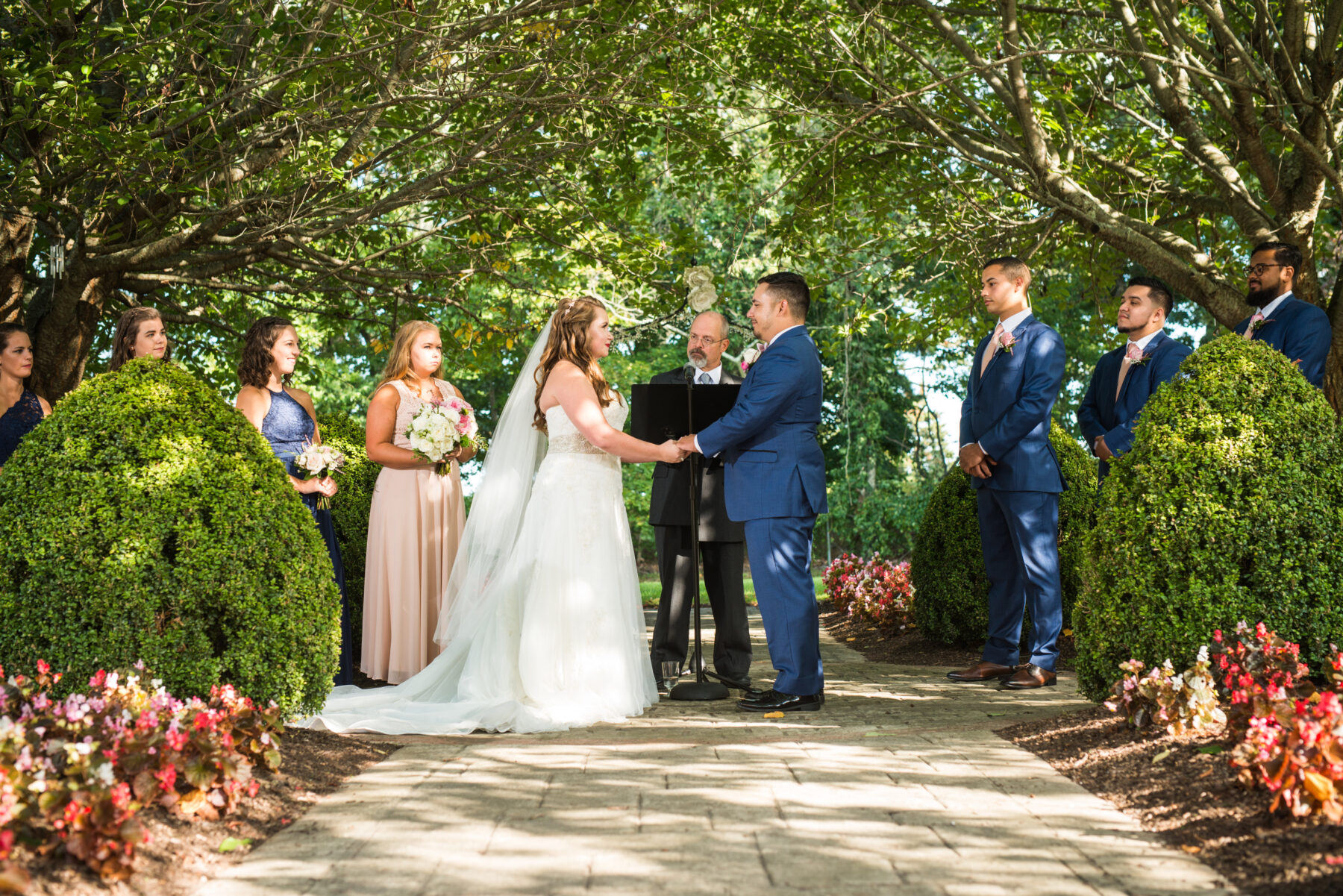 Quonset O Club North Kingstown Wedding Marissa and Alejandro Blueflash Photography 14
