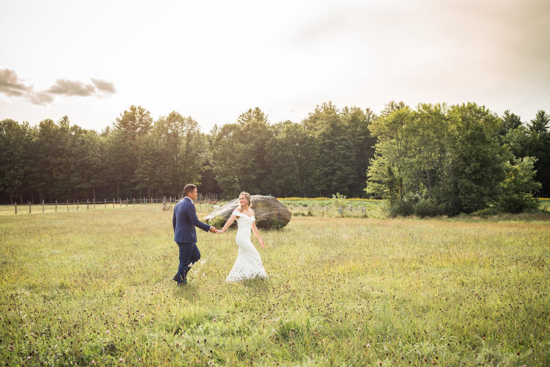 Valley View Farm Haydenville Wedding Kristin and David Blueflash Photography 6