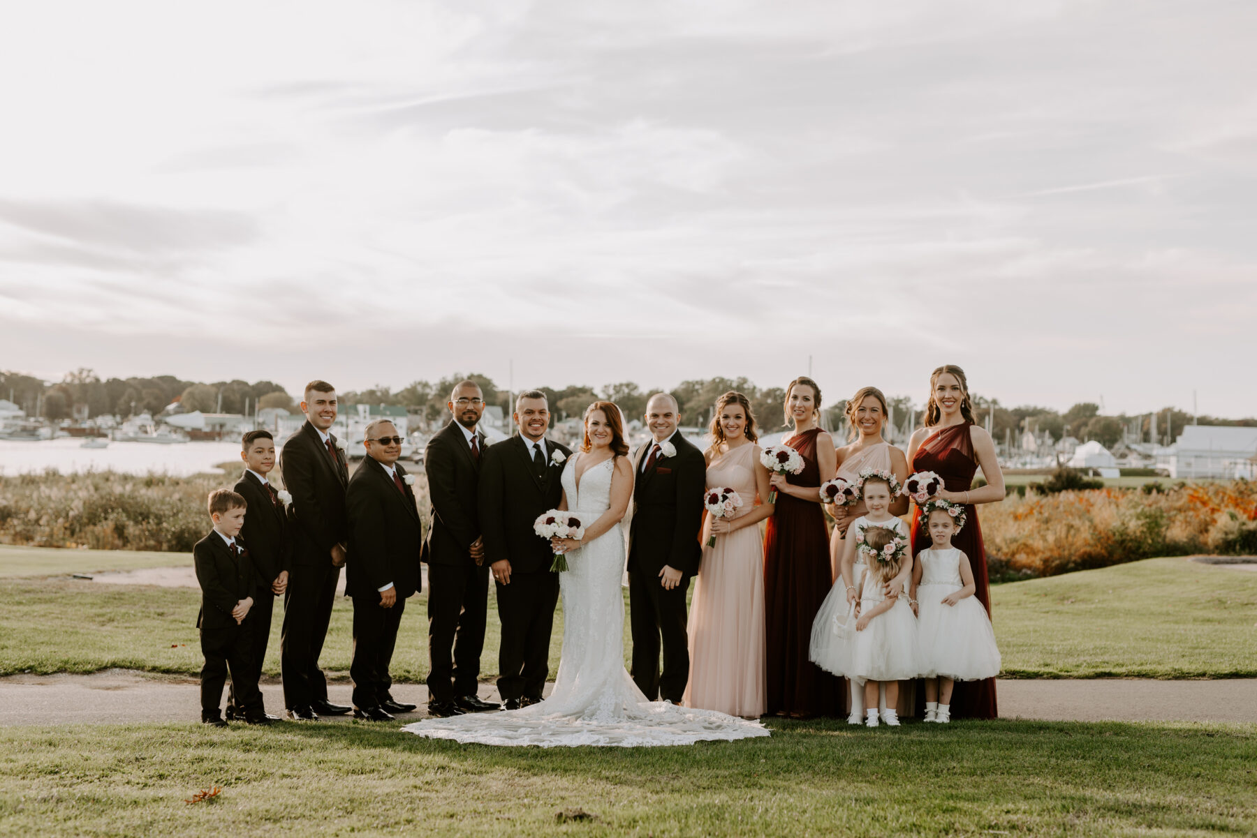 Harbor Lights Wedding Christine and Pedro Blueflash Photography 11