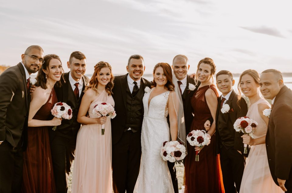 Christine and Pedro | Harbor Lights Warwick Wedding