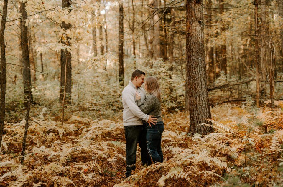 Jillian and Jared | Massachusetts Engagement Session