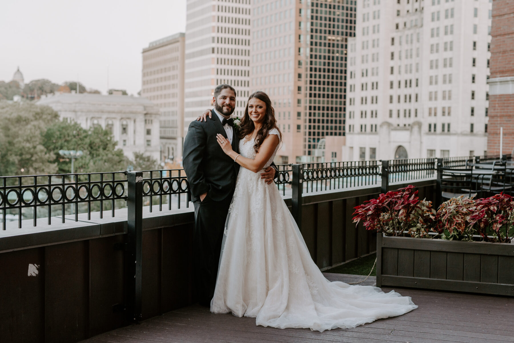 Graduate Providence Wedding Alexandria and Mike Blueflash Photography 5