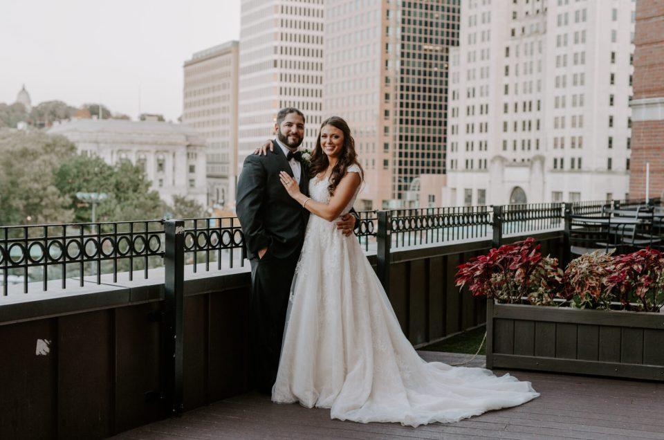 Alexandria and Mike | Graduate Providence Wedding
