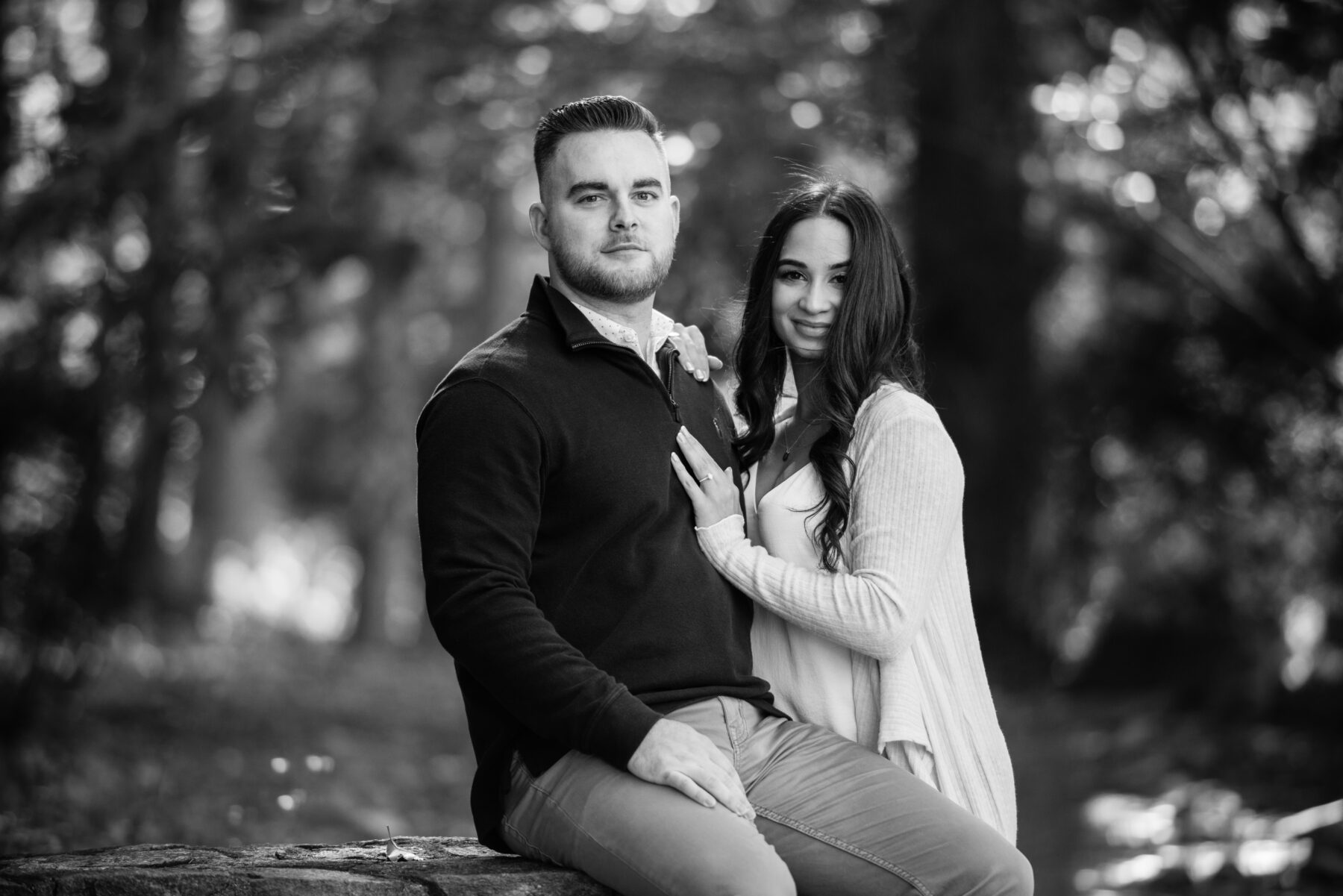 Chase Farm Lincoln Engagement Kristen and Mike Blueflash Photography 7